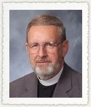 Our pastor, the Rev. David T. Mensing, was born in Cortland, New York, <b>...</b> - Pastor_Mensing_Portrait